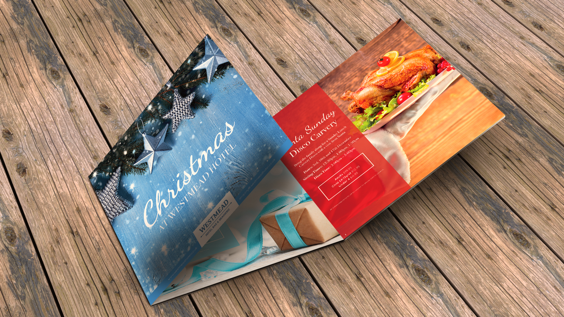 Square Trifold Leaflet Printing
