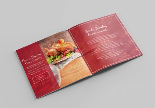 Square Brochure Printing