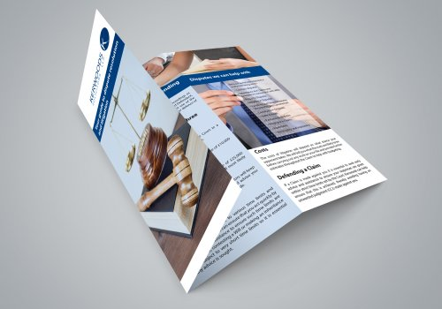 Trifold DL Brochure Printing